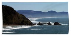 Pacific Ocean View 2 Beach Towel
