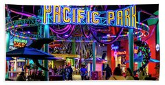 Pacific Park - On The Pier Beach Towel
