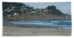 Beach Towel featuring the photograph Pacifica California by David Bearden