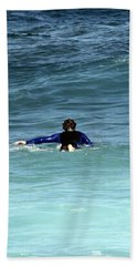 Paddling Out Beach Towel
