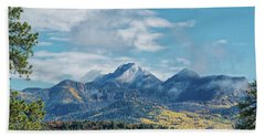 Pagosa Peak Autumn 2014 Beach Towel
