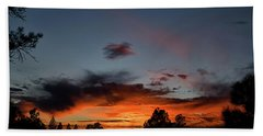 Pagosa Sunset 11-30-2014 Beach Towel