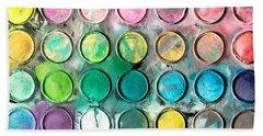 Paint Tray Beach Sheet