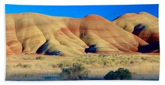Painted Hills Extreme Pano  Beach Sheet