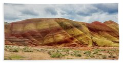 Painted Hills Panorama 2 Beach Sheet