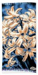 Painted Hyacinth Beach Towel