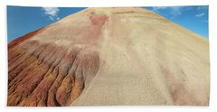 Beach Towel featuring the photograph Painted Mound by Greg Nyquist