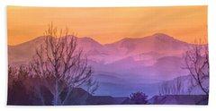 Painted Mountains Beach Sheet
