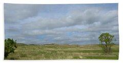 Beach Towel featuring the photograph Painted Plains by JoAnn Lense