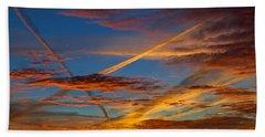Painted Skies Beach Towel