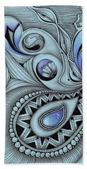 Paisley Power Beach Towel