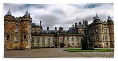 Palace Of Holyroodhouse  Beach Towel
