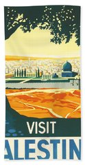 Palestine Beach Towel