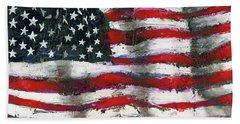 Palette Flag Beach Towel