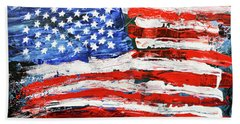 Palette Of Our Founding Principles Beach Towel