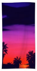 Beach Towel featuring the photograph Palm Artistry by The Walkers