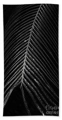 Beach Towel featuring the photograph Palm Leaf by Deborah Benoit