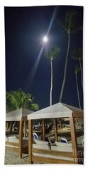 Palm Moon Beach Towel