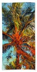 Palm No. 1 Beach Towel
