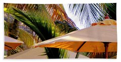 Palm Serenity Beach Towel