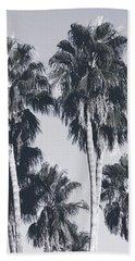 Palm Springs Palm Trees- Art By Linda Woods Beach Towel