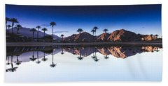 Palm Springs Reflection Beach Towel
