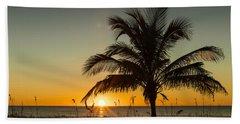 Palm Sunset Beach Sheet