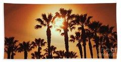 Palm Tree Dreams Beach Sheet