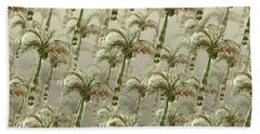 Palm Tree Grove Beach Towel