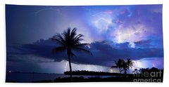 Palm Tree Nights Beach Towel