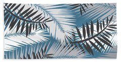 Palm Trees 10 Beach Towel by Mark Ashkenazi