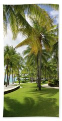 Beach Towel featuring the photograph Palm Trees 2 by Sharon Jones