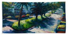 Palm Trees Beach Sheet