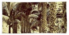 Palm Walk In St. Maarten Beach Towel