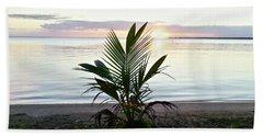 Palma En Patillas Beach Towel