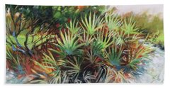 Palmetto Dance Beach Towel by Mary Hubley