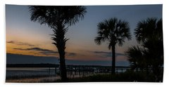 Palmetto Sky Beach Towel
