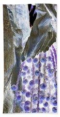 Backlit Blueberries Beach Sheet