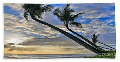 Palms Of Kaanapali Beach Towel