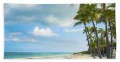 Palms On The Beach Beach Sheet