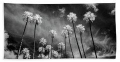 Palms Beach Towel by Sean Foster