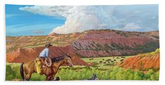 Palo Duro Serenade Beach Towel