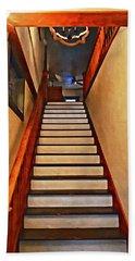 Palomar Inn Hotel Stairwell - Temecula Beach Towel