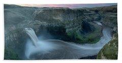 Palouse Falls Dawn Beach Towel