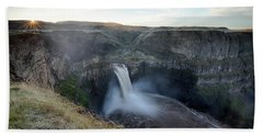 Palouse Falls Sunrise Beach Sheet