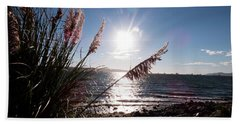 Pampas By The Sea Beach Towel