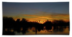 Pana Setting Sun Blues Beach Towel