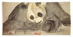 Panda Monium  Album Beach Towel