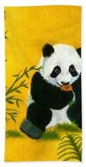 Panda Power Beach Towel