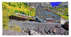 Beach Sheet featuring the photograph Pandora Mill - Telluride - Colorful Colorado by Jason Politte